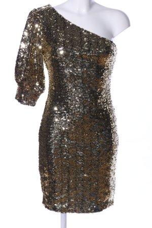 Nakd One-Shoulder-Kleid goldfarben Elegant
