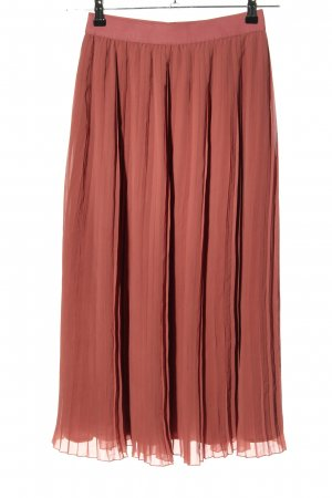 Nakd Pleated Skirt red casual look