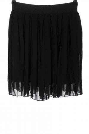 Nakd Plisseerock schwarz Elegant