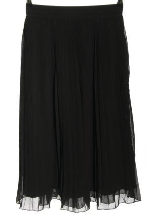 Nakd Falda plisada negro look casual