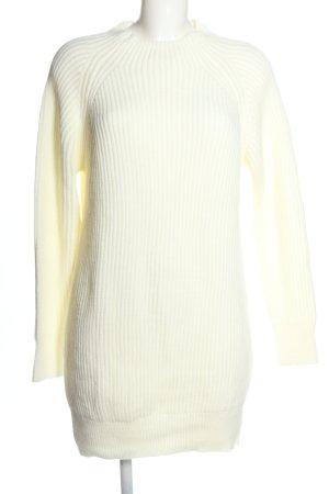 Nakd Swetrowa sukienka biały W stylu casual
