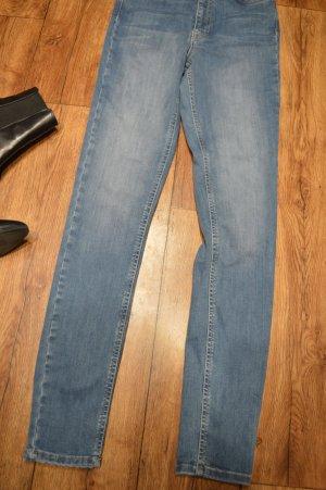 Nakd Jeans a vita alta blu acciaio-blu pallido