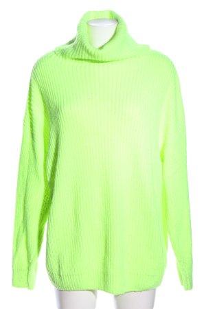 Nakd Rollkragenpullover grün Casual-Look