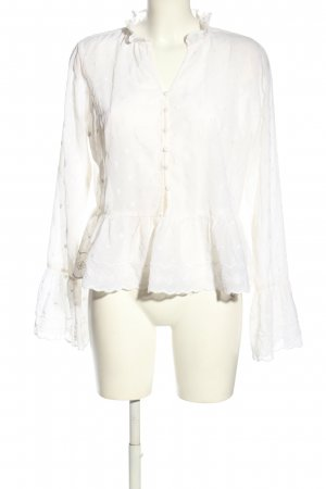 Nakd Ruffled Blouse white business style