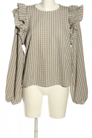 Nakd Slip-over Blouse check pattern casual look