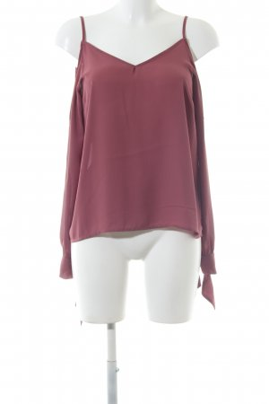 Nakd Schlupf-Bluse rot Casual-Look