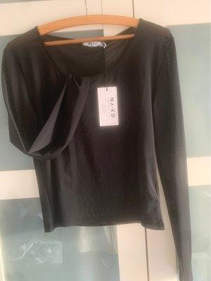 Nakd Shirt Transparent schwarz XL