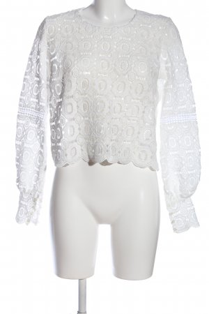 Nakd Lace Blouse white casual look
