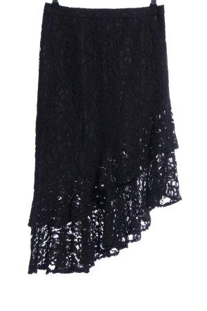 Nakd Falda de encaje negro look casual