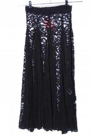 Nakd Falda de encaje negro elegante