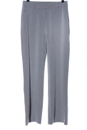 Nakd Pantalón tipo suéter gris claro estampado a rayas look casual