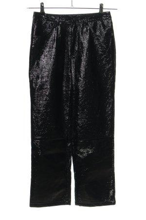 Nakd Pantalón tipo suéter negro estilo extravagante