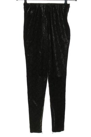 Nakd Pantalón tipo suéter negro look casual