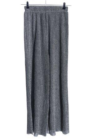 Nakd Pantalón tipo suéter color plata moteado elegante