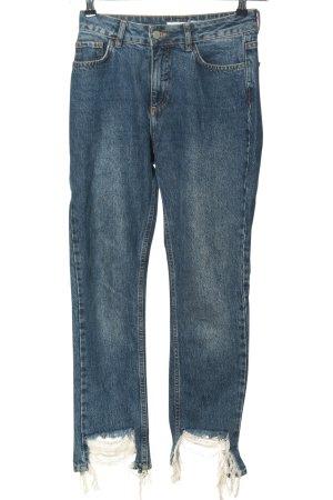 Nakd Jeans a gamba dritta blu stile casual