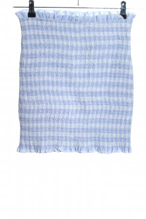 Nakd Stretch Skirt blue-white striped pattern casual look