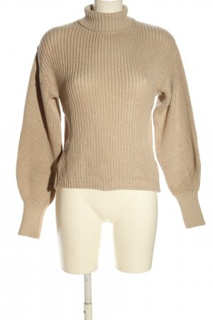 Nakd Strickpullover creme Casual-Look