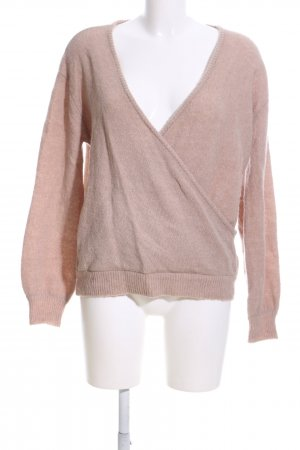 Nakd Strickpullover nude Casual-Look