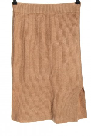 Nakd Knitted Skirt nude casual look