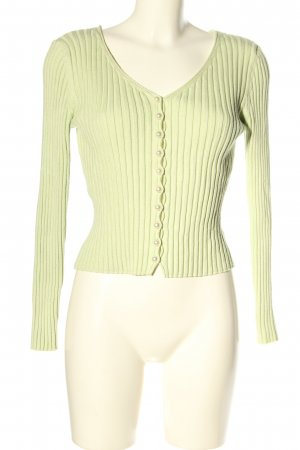 Nakd Strickshirt grün Casual-Look