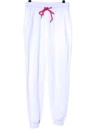 Nakd Pantalon de jogging blanc style décontracté