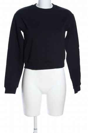 Nakd Sweatshirt zwart casual uitstraling