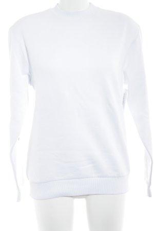 Nakd Sweatshirt weiß Casual-Look