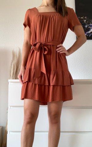 NAKD (Trendyol), Sommerkleid, Orange/Rostrot