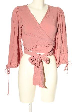 Nakd Wickel-Bluse pink Casual-Look