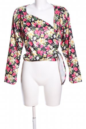 Nakd Wraparound Blouse allover print casual look