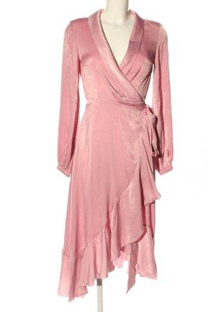 Nakd Wickelkleid pink Casual-Look