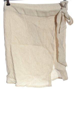 Nakd Wraparound Skirt cream casual look