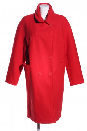 Nakd Wollmantel rot Casual-Look