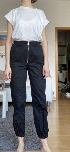 Nakd Spodnie z wysokim stanem czarny