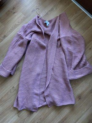 Karo Kauer x NAKD Crochet Cardigan pink