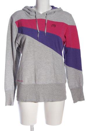 Nakecano Kapuzensweatshirt meliert Casual-Look