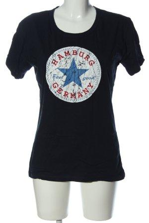 Nakedshirt T-Shirt Motivdruck Casual-Look