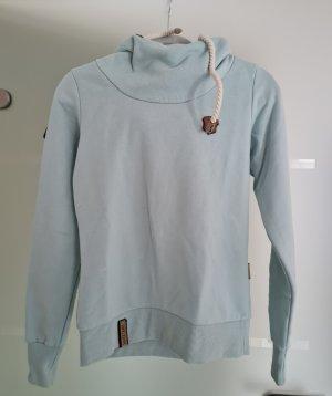Naketano Top à capuche bleu clair