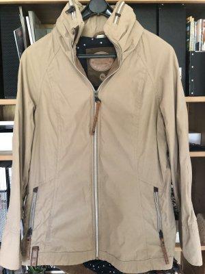 Naketano Damen-Jacke Gezielt Poppen, sandfarben, Größe XL