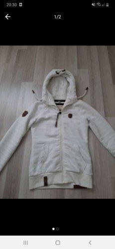 Naketano Hooded Vest white-cream