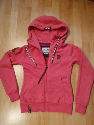 Naketano Hooded Sweatshirt bright red