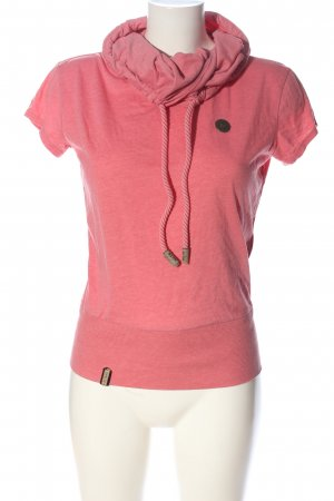 Naketano Fine Knitted Cardigan pink casual look