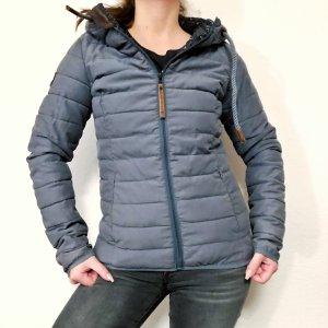 Naketano Quilted Jacket slate-gray