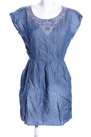 Naketano Vestido vaquero azul look casual