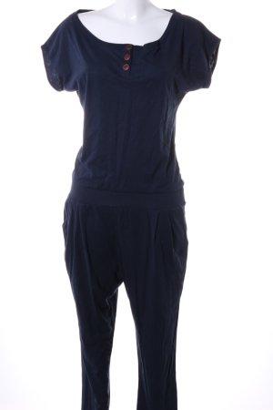 Naketano Jumpsuit blue casual look