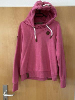 Naketano Capuchon sweater roze