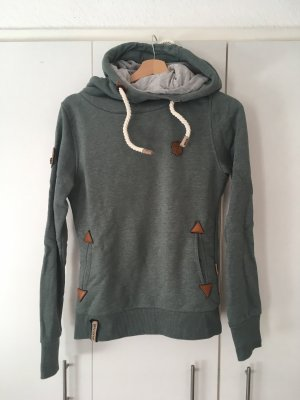 Naketano Kapuzen Sweatshirt in Grün