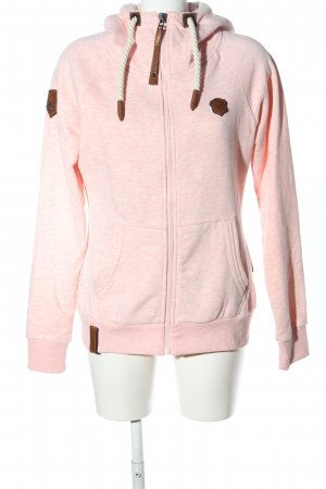 Naketano Hoody nude flecked casual look