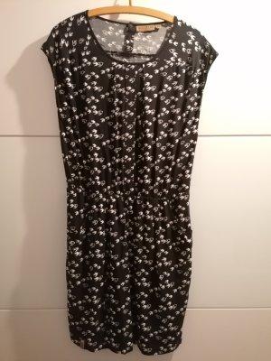 Naketano Kleid schwarz/weis Vögel