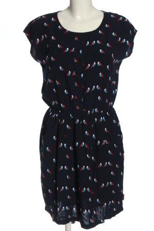 Naketano Sukienka z krótkim rękawem Na całej powierzchni W stylu casual